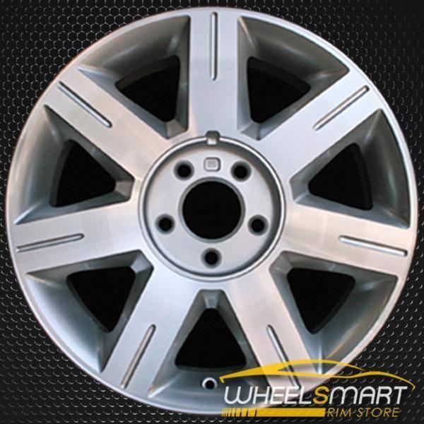 "17"" Cadillac DTS oem wheel 2006-2007 Machined slloy stock rim ALY04600U10"