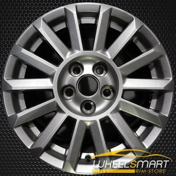 """17"""" Cadillac CTS oem wheel 2010-2013 Silver slloy stock rim ALY04668U20"""