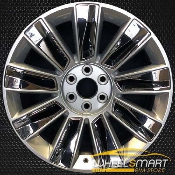 """22"""" Cadillac Escalade oem wheel 2015-2018 Silver alloy stock rim ALY04740U20"""