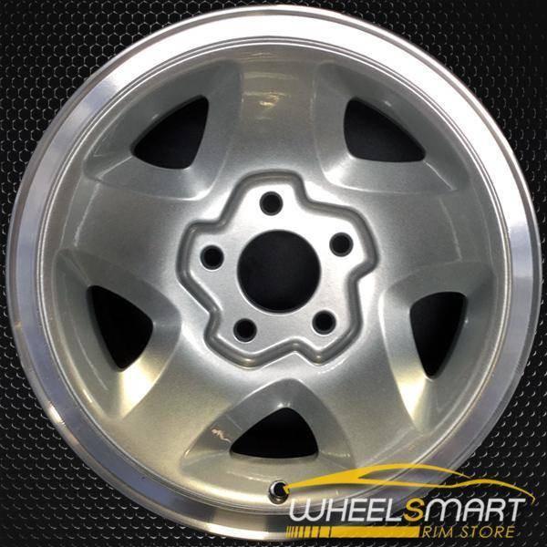 """15"""" GMC S10 S15 Sonoma oem wheel 1994-2000 Silver alloy stock rim ALY05028U10"""
