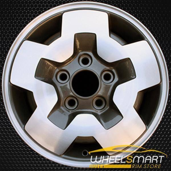 """15"""" Chevy Blazer S10 Jimmy oem wheel 1999-2005 Machined alloy stock rim ALY05031U30"""