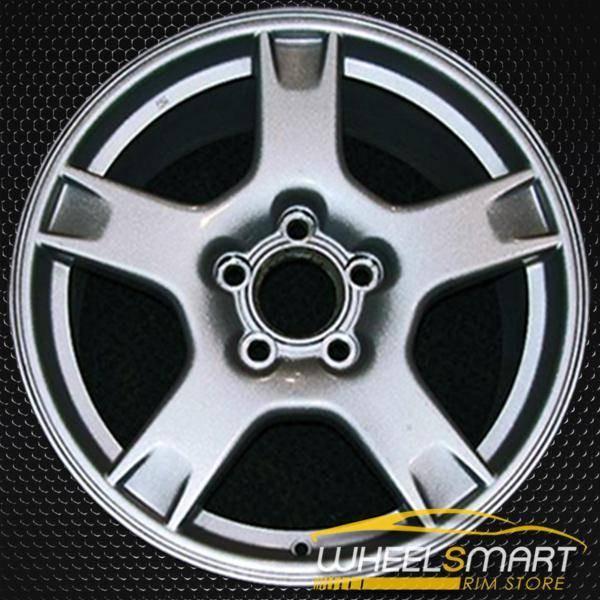 "17"" Chevy Corvette oem wheel 1997-1999 Silver slloy stock rim ALY05058U10"