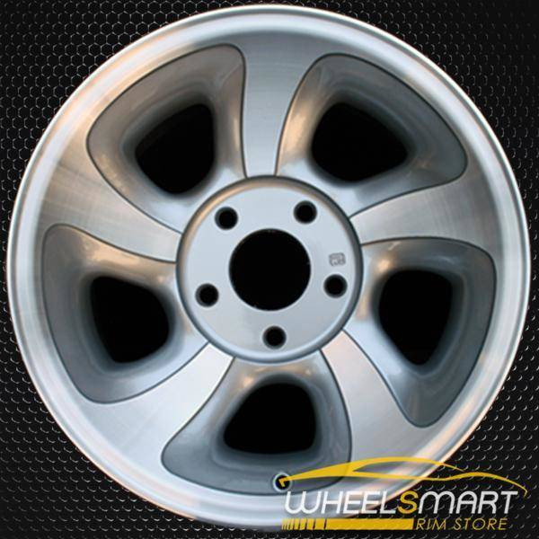 "15"" Chevy Blazer S10 Jimmy oem wheel 1998-2005 Machined slloy stock rim ALY05063U10"