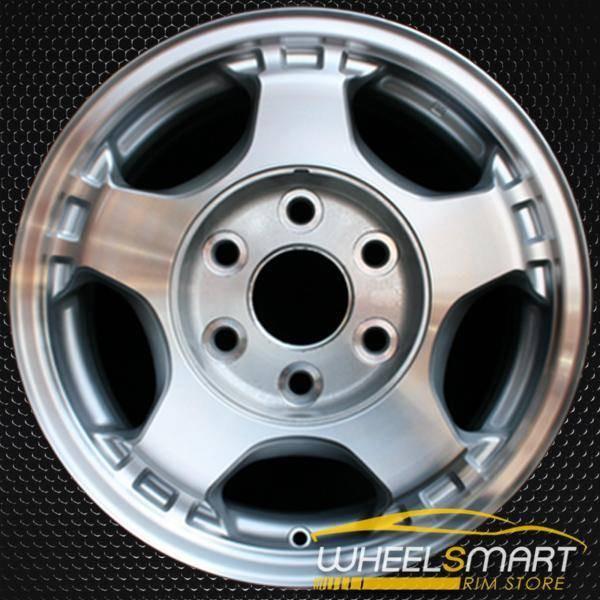 "16"" Chevy Silverado oem wheel 1999-2002 Machined slloy stock rim ALY05073U10"