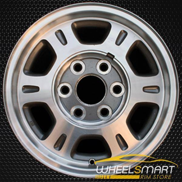 "16"" GMC Sierra 1500 oem wheel 1999-2002 Machined slloy stock rim ALY05077U10"