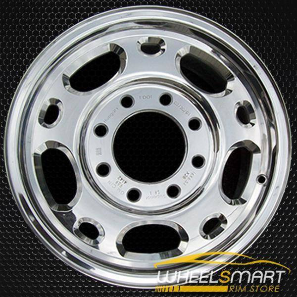 "16"" GMC Sierra 2500 3500 oem wheel 1999-2010 Chrome slloy stock rim ALY05079U85"