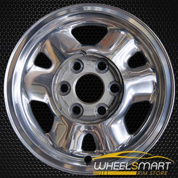 "16"" GMC Yukon oem wheel 1999-2003 Polished slloy stock rim ALY05095A80"