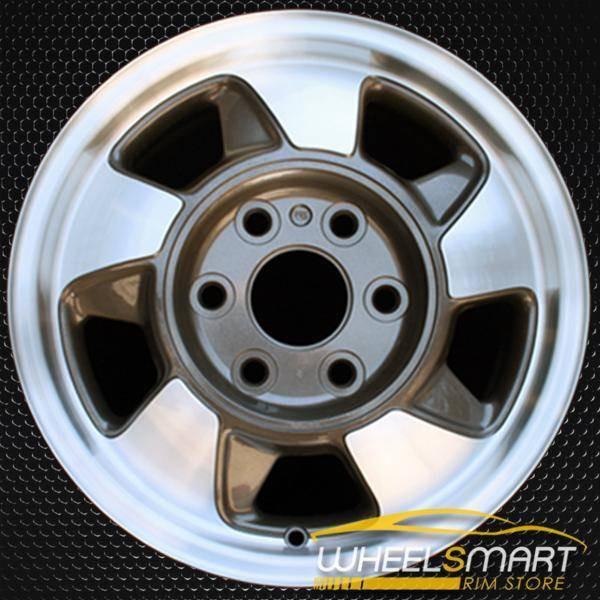 "16"" Chevy Suburban oem wheel 2000-2003 Machined slloy stock rim ALY05096U10"
