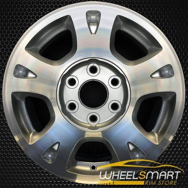 "17"" Chevy Avalanche oem wheel 2002-2006 Machined slloy stock rim ALY05130U20"