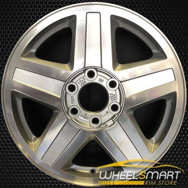 "17"" Chevy Trailblazer oem wheel 2002-2003 Machined slloy stock rim ALY05142U10"