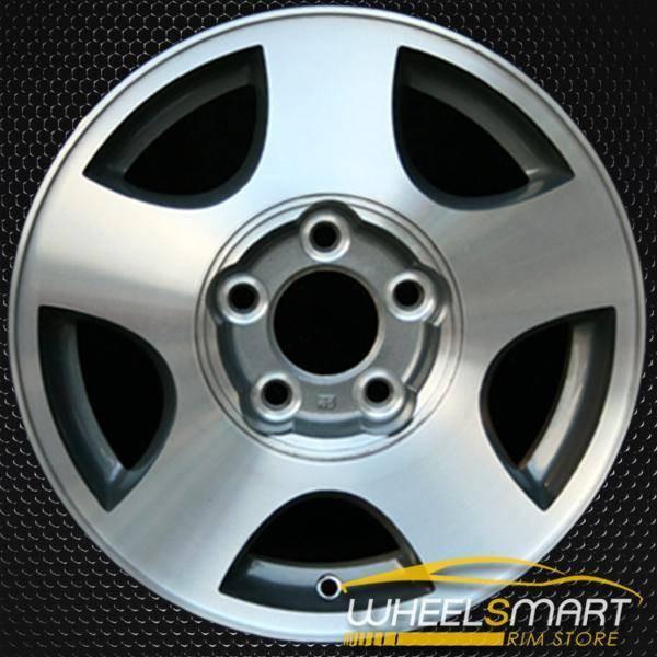 "15"" Chevy Malibu oem wheel 2002-2005 Machined slloy stock rim ALY05148U35"