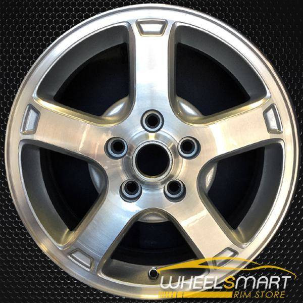 "16"" Chevy Impala oem wheel 2003-2005 Machined slloy stock rim ALY05164U20"