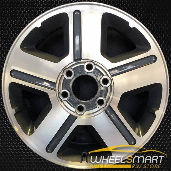 """17"""" Chevy Trailblazer oem wheel 2004-2009 Machined slloy stock rim ALY05179U35"""