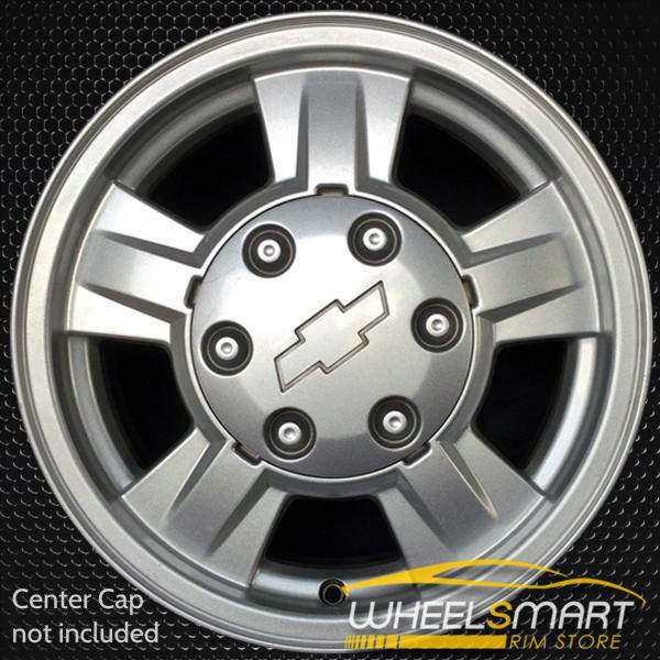"15"" Chevy Colorado oem wheel 2004-2008 Silver slloy stock rim ALY05186U20"