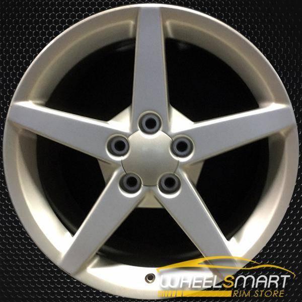 "18"" Chevy Corvette oem wheel 2005-2007 Silver slloy stock rim ALY05207U20"