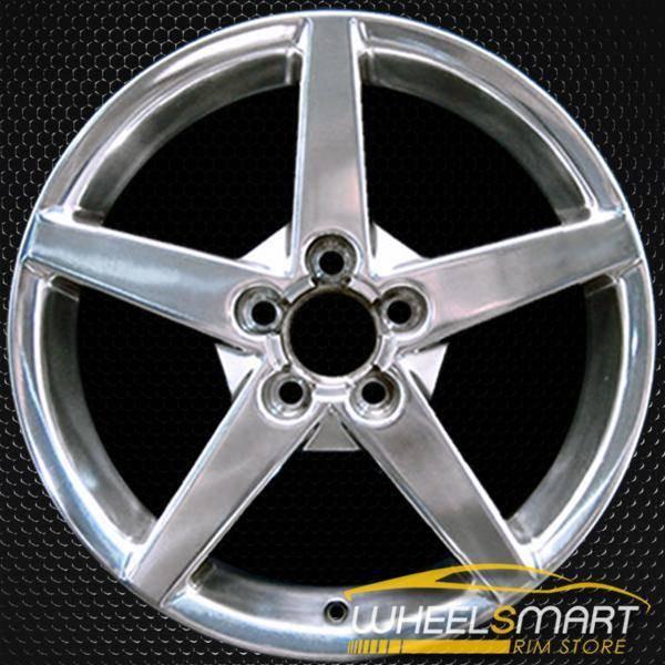 "19"" Chevy Corvette oem wheel 2005-2007 Polished slloy stock rim ALY05210U80"
