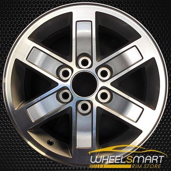 "17"" GMC Yukon oem wheel 2007-2014 Machined slloy stock rim ALY05296U10"