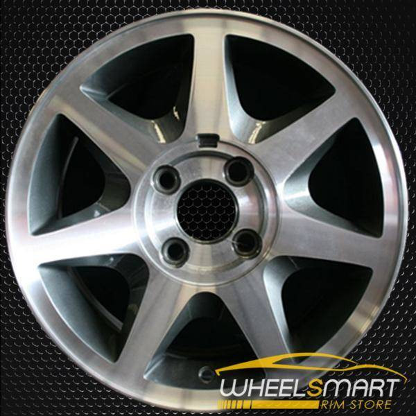 "15"" Ford Contour OEM wheel 1995-1998 Machined alloy stock rim ALY03117U10"