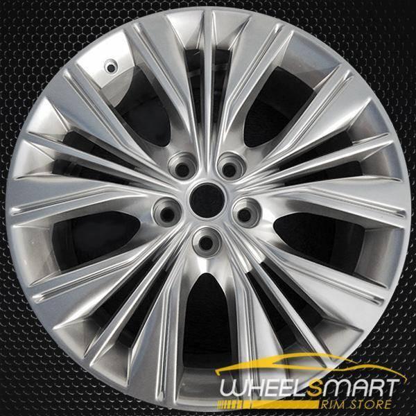 """20"""" Chevy Impala OEM wheel 2014-2016 Hypersilver alloy stock rim ALY05615U77"""