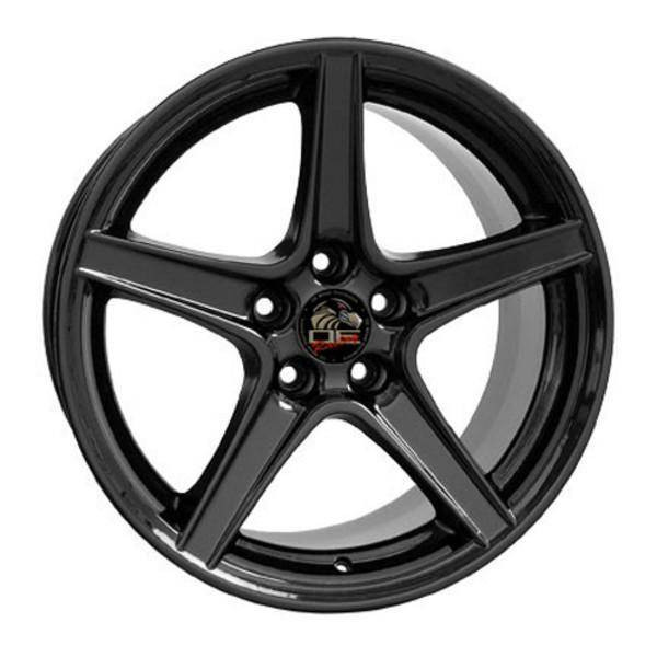 "18"" Ford Mustang replica wheel 1994-2004 Black rims 8181977"