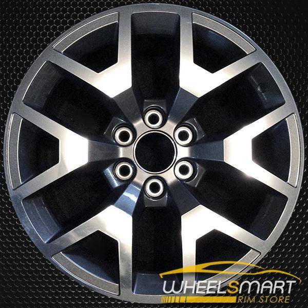 "20"" GMC Sierra 1500 Pickup OEM wheel 2014-2016 Polished alloy stock rim ALY05658U80"