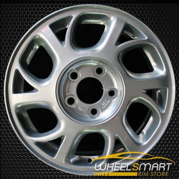 "16"" Oldsmobile Intrigue OEM wheel 2000-2002 Silver alloy stock rim ALY06038U10"