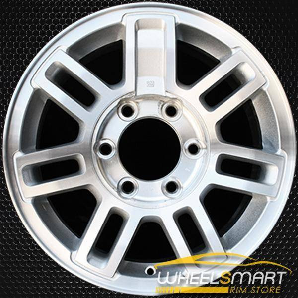 "16"" Hummer H3 OEM wheel 2006-2010 Machined alloy stock rim ALY06304U10"