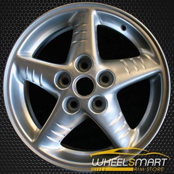 """16"""" Pontiac Grand Am OEM wheel 1999-2001 Silver alloy stock rim ALY06533U20"""