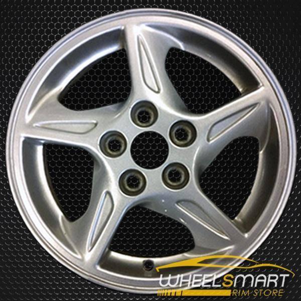 "16"" Pontiac Bonneville OEM wheel 2000-2002 Silver alloy stock rim ALY06541U20"