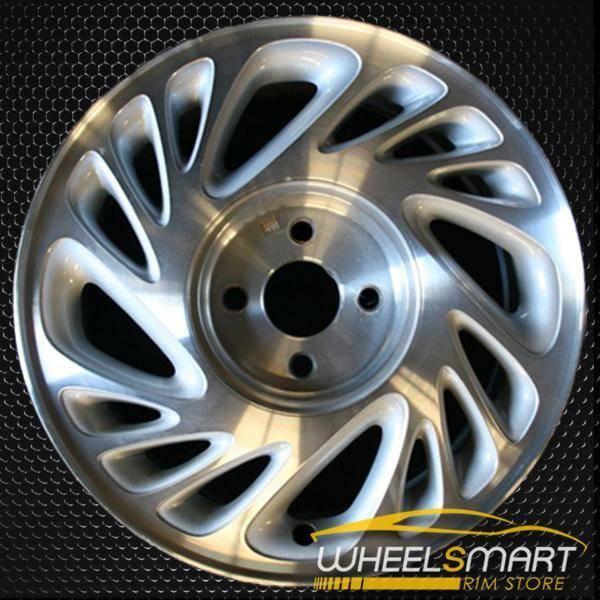 "15"" Saturn SC OEM wheel 1998-1999 Machined alloy stock rim ALY07010U10"