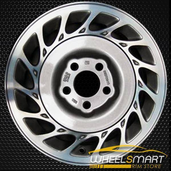 """15"""" Saturn L Series OEM wheel 2000-2002 Machined alloy stock rim ALY07016U10"""