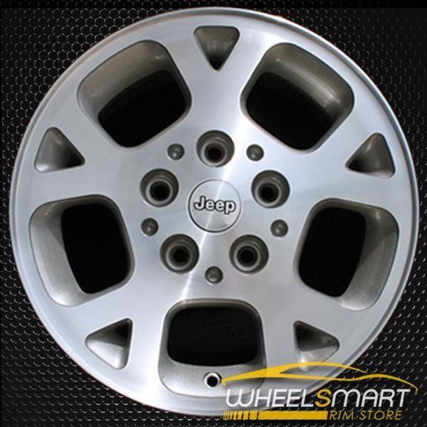"16"" Jeep Grand Cherokee OEM wheel 1999-2003 Machined alloy stock rim ALY09027U20"