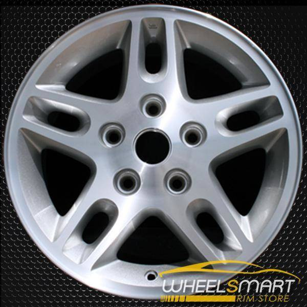 "16"" Jeep Grand Cherokee OEM wheel 2002-2004 Machined alloy stock rim ALY09041U20"