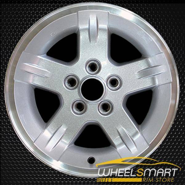 "15"" Jeep Wrangler OEM wheel 2004-2006 Machined alloy stock rim ALY09050U10"