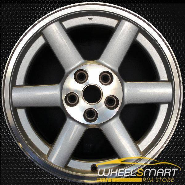 "17"" Jeep Liberty OEM wheel 2005-2007 Machined alloy stock rim ALY09057U10"