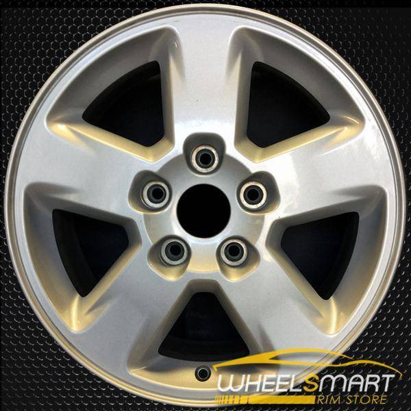 "17"" Jeep Grand Cherokee OEM wheel 2011-2013 Silver alloy stock rim ALY09104U20"