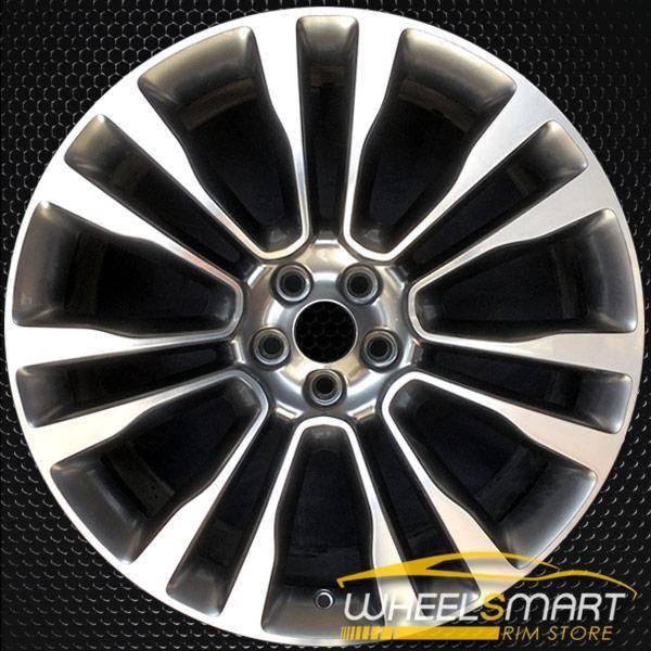 "21"" Lincoln MKX OEM wheel 2016-2018 Machined alloy stock rim ALY10077U10"
