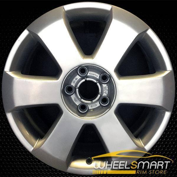 "17"" Audi A4 OEM wheel 2003-2006 Silver alloy stock rim ALY58760U20"