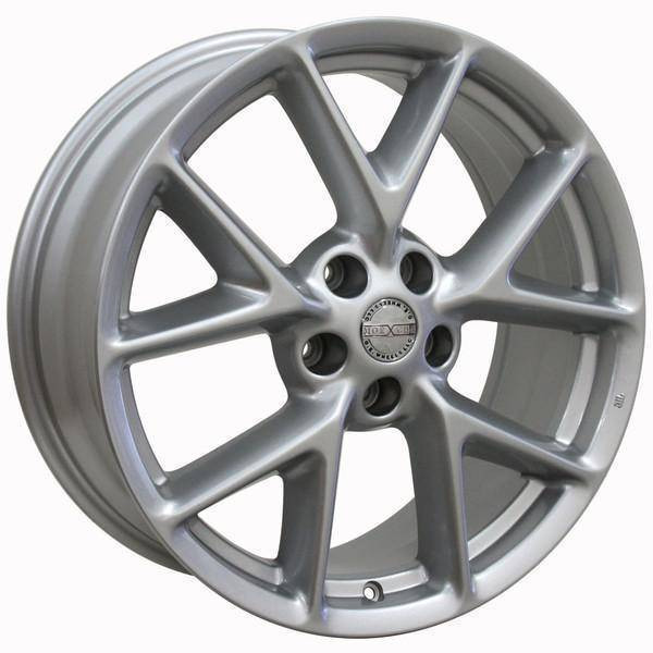 """19"""" Nissan Altima replica wheel 2002-2018 Silver rims 9472168"""