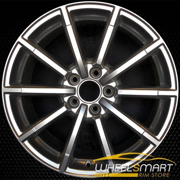 "18"" Audi A4 OEM wheel 2015-2016 Hypersilver alloy stock rim ALY58956U77"