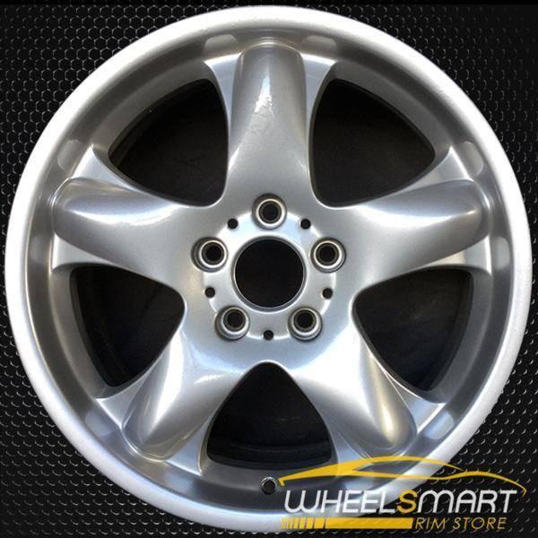 "18"" BMW X5 OEM wheel 2000-2006 Silver alloy stock rim ALY59321U10"
