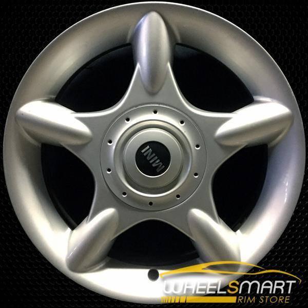 """16"""" Mini Cooper Mini OEM wheel 2002-2009 Silver alloy stock rim ALY59362U20"""