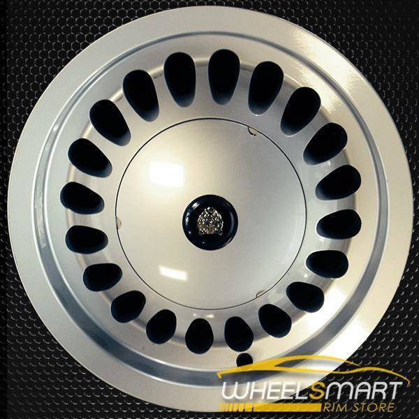 "15"" Jaguar XJ6 OEM wheel 1988-1992 Silver alloy stock rim ALY59672U10"