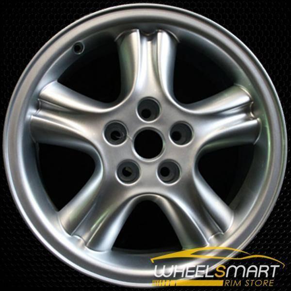 "18"" Jaguar XJ8 OEM wheel 1998-2003 Silver alloy stock rim ALY59695U10"
