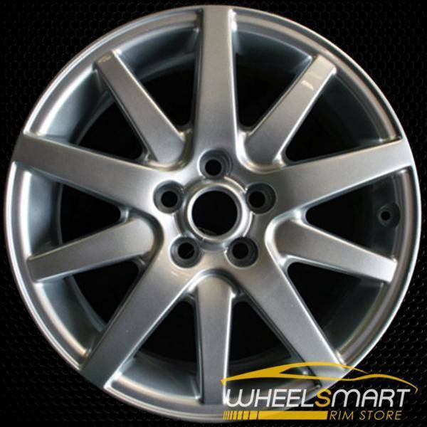 "17"" Jaguar S Type OEM wheel 2000-2008 Silver alloy stock rim ALY59705U20"
