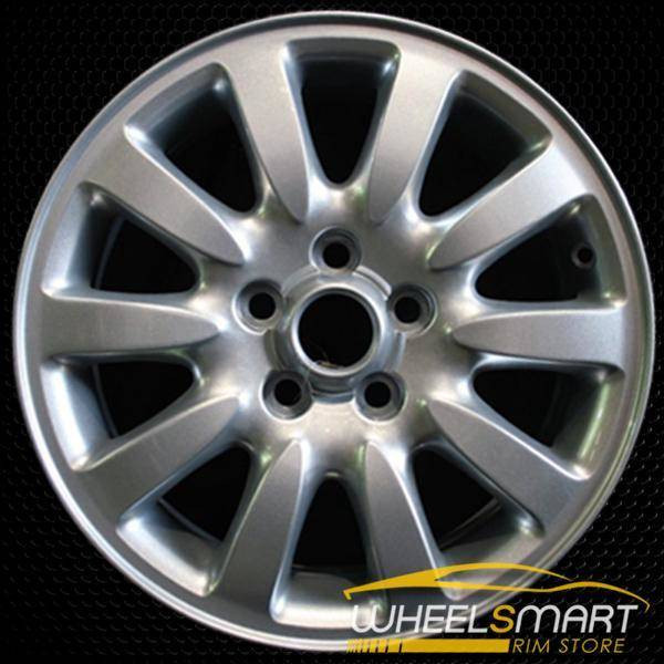"16"" Jaguar X Type OEM wheel 2002-2003 Silver alloy stock rim ALY59712U20"