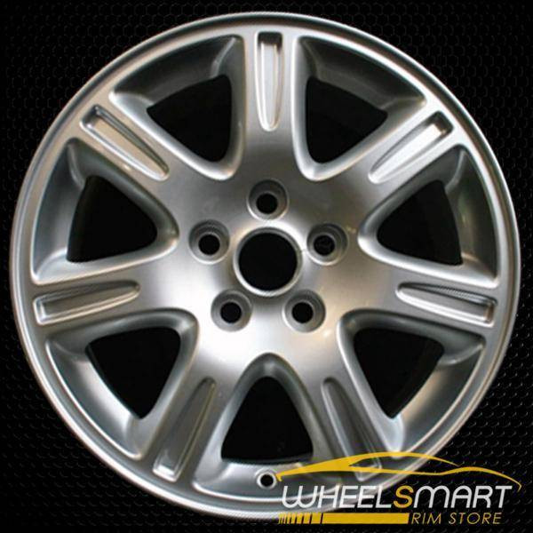 "17"" Jaguar S Type OEM wheel 2003-2008 Silver alloy stock rim ALY59777U20"