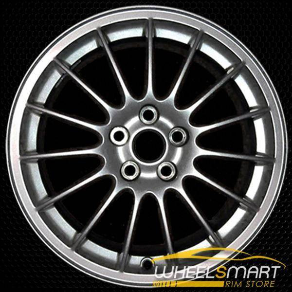 "17"" Jaguar S Type OEM wheel 2006-2007 Silver alloy stock rim ALY59803U20"