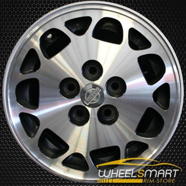 "15"" Nissan Maxima OEM wheel 1995-1999 Machined alloy stock rim ALY62320U10"