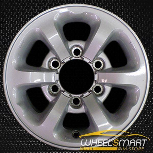 "14"" Nissan Pickup OEM wheel 1996-1997 Silver alloy stock rim ALY62340U10"